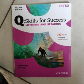 Q:Skills for Success: Listening and Speaking ( INTRO) 全新如图