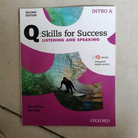 Q:Skills for Success: Listening and Speaking ( INTRO A) 全新如图