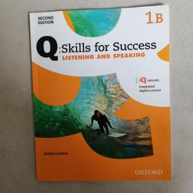 Q:Skills for Success: Listening and Speaking ( 1B) 全新如图