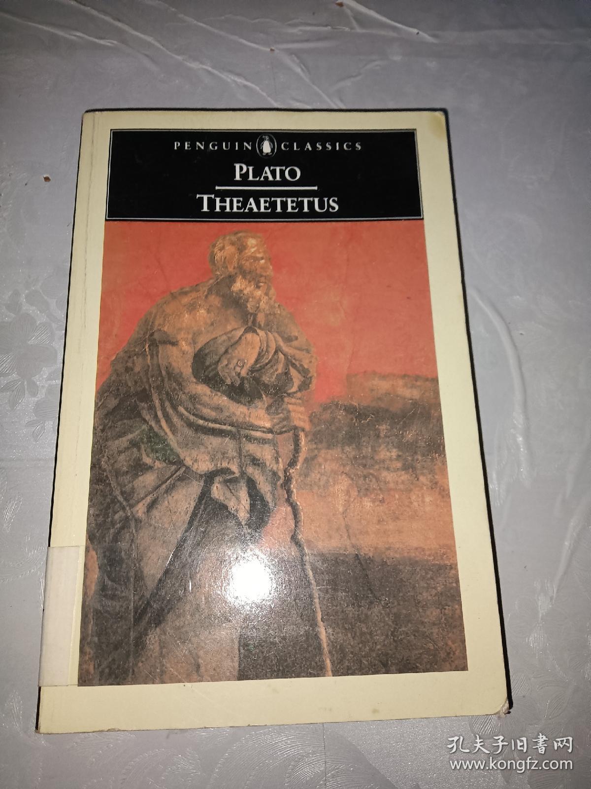 (Penguin Classics)Theaetetus【英文原版】