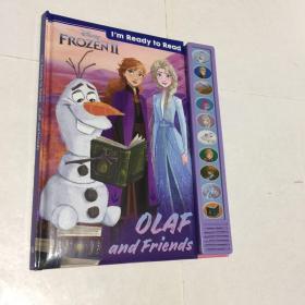 现货 冰雪奇缘2 雪宝 英文原版发声绘本书 我准备好和雪宝一起阅读啦 I'm Ready to Read with Olaf 暗影森林 Disney Frozen 2