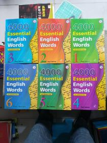 4000 Essential English Words(Book 1~6 with Answer Key)英文原版