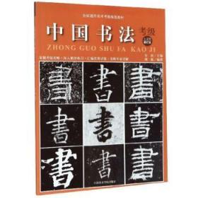 中国美术学院 全国通用美术考级规范教材:中国书法考级(1~6级)修订本 安滨