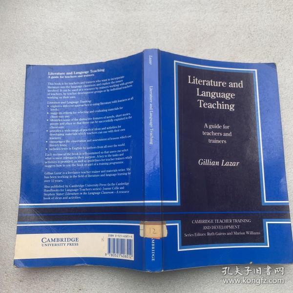 LiteratureandLanguageTeaching:AGuideforTeachersandTrainers