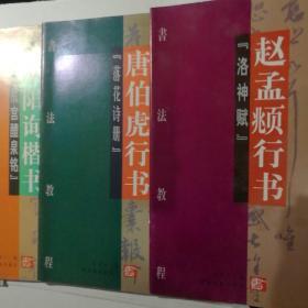 书法教程:唐伯虎行书 柳公权楷书等14册合售【 正版全新 一版一印 现货实拍 】