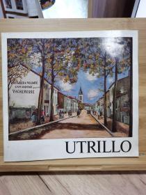 Utrillo  ユトリロ展 : 1967     莫里斯·郁特里罗(Maurice Utrillo)展 1967