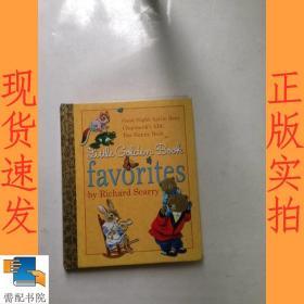 英文书  Little Golden Book Favorites by Richard Scarry斯凯瑞金色童书-我最喜欢的金色童书