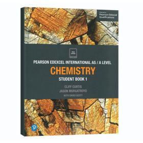 全新正版【中图原版】Edexcel International AS/A level Chemistry 爱德思 化学学生用书 AS级别 爱德思国际先进水平IAL