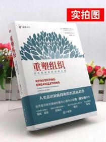 正版 重塑组织进化型组织的创建之道 弗雷德里克拉卢著管理方面的书籍 企业管理人类意识阶段组织进化指南创建与管理书籍