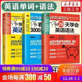 28天学会英语语法+3000单词 +单词记忆3册零基础学好英语语法速学