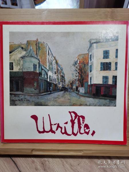 Utrillo  ユトリロ展 : 1978-9     莫里斯·郁特里罗(Maurice Utrillo)展 1978-9