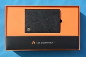 怀旧收藏 韩国 Lee geon maan 雨伞 钱包 套盒礼盒