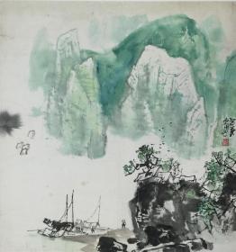 唐世民 山水 68X71.5
