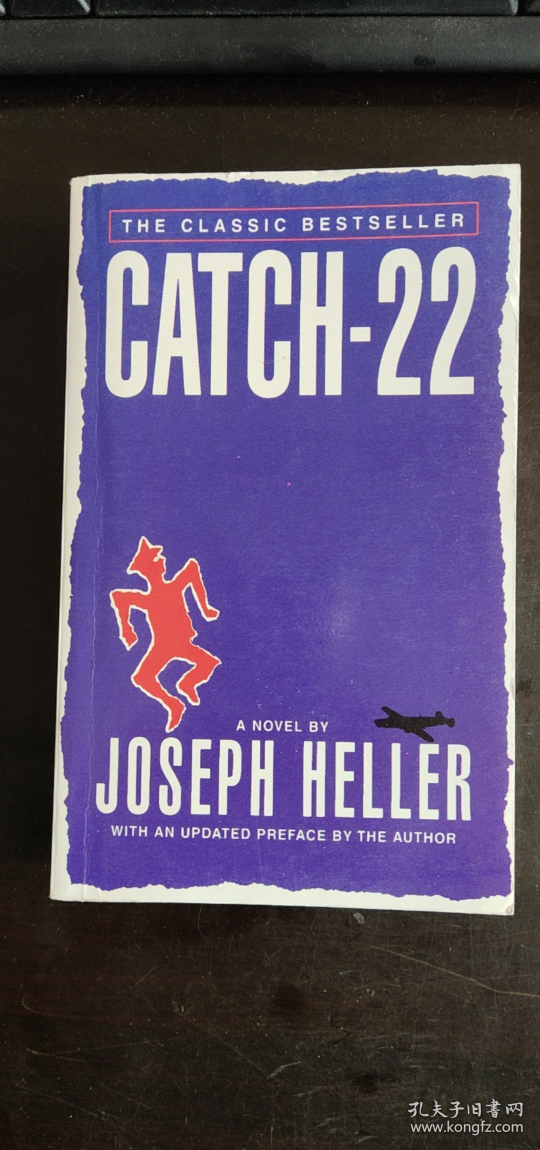 Catch-22 英文原版-《第二十二条军规》 Joseph Heller 约瑟夫·海勒 / Prentice Hall (a Pearson Education Company)