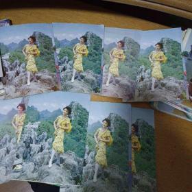 游桂林山水明信片8枚合售3