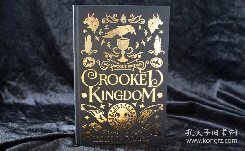预售弯曲的王国英版收藏版Crooked Kingdom Collector's Edition