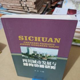 四川城市发展与结构功能研究.
