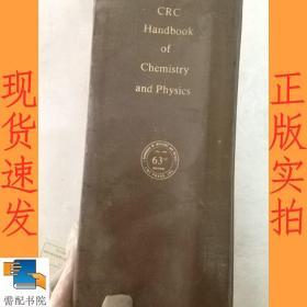 英文书【CRC Handbook Of Chemistry and Physics]--[1982-1983]---第63版 1611  化学与物理手册   63