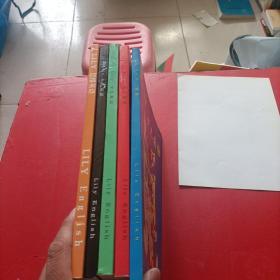 Lily 少儿英语《引导版》/Lily思维英语,《第二、三、四、五》全五册
