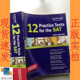 英文书   practice  tests 12 for the  sat    2009  edition  sat 2009版练习测试12