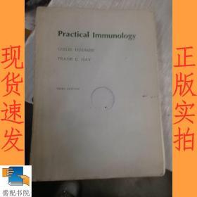 英文书 practical immunology third edition  实用免疫学第三版