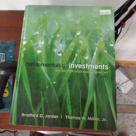 【外文原版】  Fundamentals of Investments  投资基础