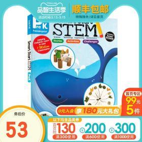 幼儿园小中大班Evan Moor美国加州教材课本Smart Start STEM pre-k Science科学英语练习册聪慧启蒙系列儿童学科教育课程英文原版