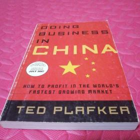 doing business in china how to profeit in the world's fastest growing market