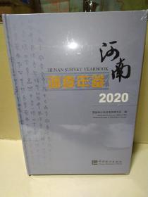 河南调查年鉴2020【带塑封】