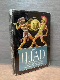 The Iliad(荷马《伊利亚特》,Alston Hurd Chase等英译,难找的Steele Savage插图本,布面精装带护封,毛边,1953年老版本)