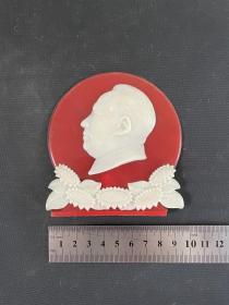 毛主席摆件 塑料摆件 文革老物件 文革摆件