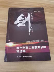 十年一剑:滁州刑警大案要案侦破精选集