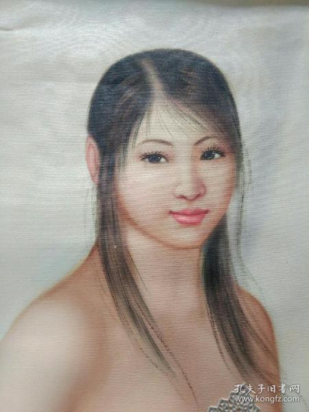 名人人体艺术油 画。