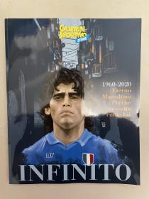 意大利体育战报马拉多纳纪念特刊,178页,全新,送四张马拉多纳海报(如图)