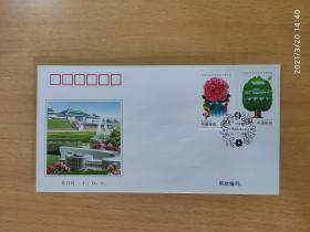 首日封《庐山和金刚山》中朝联合发行 特种邮票