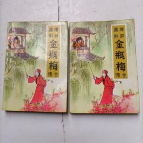 绘图评点金瓶梅全传(上下)2册全