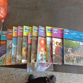《HOW&WHY》美国经典少儿百科知识全书(第1、2合辑共13册,超值礼品装)差2...3册共11册