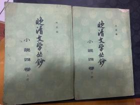 晚清文学丛钞 小说四卷 上下 共两册