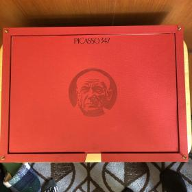 毕加索超豪华图册《347版画连作集》 对开超大 全六函单独印制 日本版 35万日元!