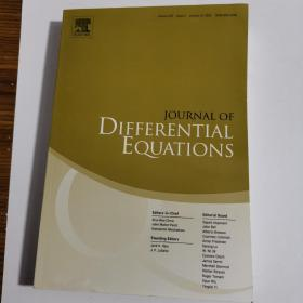 JOURNAL OF DIFFERENTIAL EQUATIONS  Volume 250 Issue 2