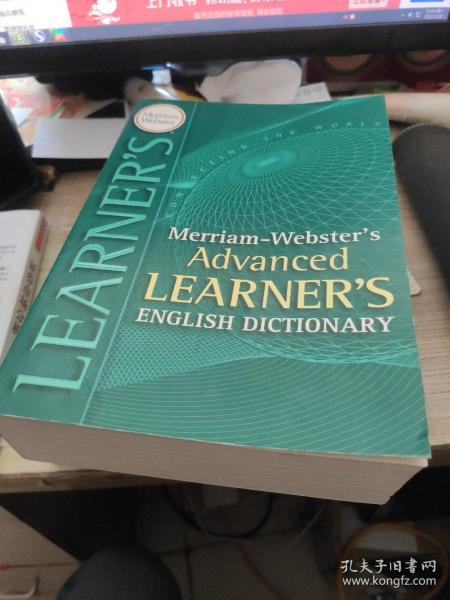 Merriam-Webster's Advanced Learner's English Dictionary