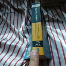 Four Great Plays of Henrik Ibsen: A Doll's House, The Wild Duck, Hedda Gabler, The Master Builder (Enriched Classics Series) by Henrik Ibsen 易卜生四大戏剧   正版 内页干净  自然旧  请看图