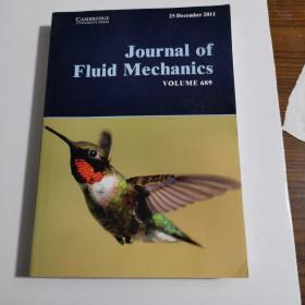 Journal of Fluid Mechanics VOLUME 689