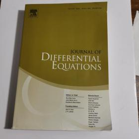 JOURNAL OF DIFFERENTIAL EQUATIONS  Volume 250 Issue 1