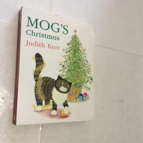 Mog`s Christmas   英文纸板书  英文儿童读物