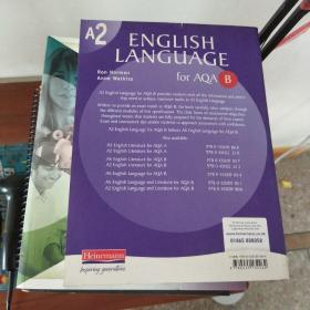 【外文原版】 A2 English Language for AQA/B