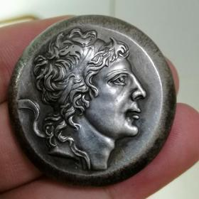 715.丝绸之路 古罗马 稀有银币