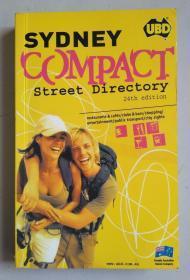 Sydney compact street directory 24th edition  地图册