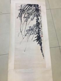 萧龙士   兰草