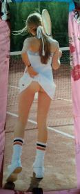 外国海报宣传画:网球明星(大尺度 真人比例)